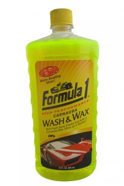 Formula 1 Carnauba Wash and Wax - (FOR-WW-001)