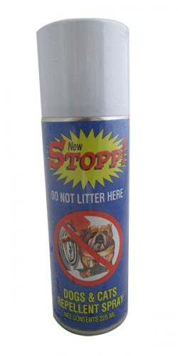 New STOPP! Dogs and Cats Repellent Spray 225 ML - (SP-001)