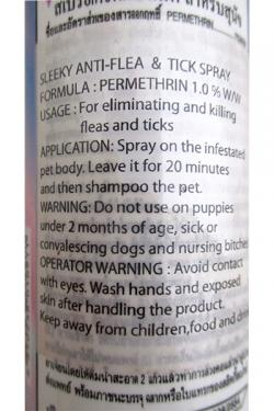 Sleeky Tick and Flea Killer Spray 200 ML - (SP-008)
