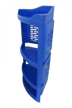 4 Layer Plastic Corner Stand - (UT-033)