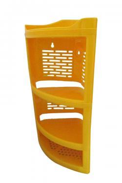 4 Layer Plastic Corner Stand - (UT-034)