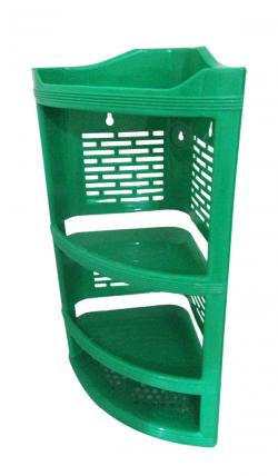 4 Layer Plastic Corner Stand - (UT-035)