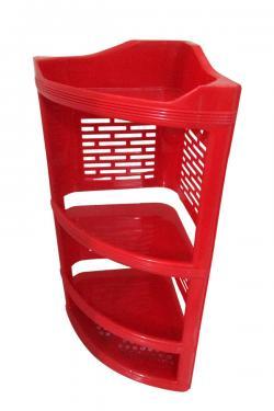 4 Layer Plastic Corner Stand - (UT-036)