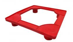 Red Color Fridge Stand - (UT-045)