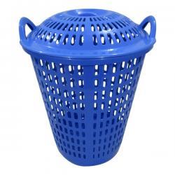 Laundry Basket In Blue - (UT-030)
