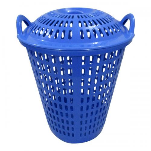 Laundry Basket In Blue - (UT-030)