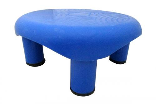 Blue Color Bathroom Plastic Stool - (UT-026)