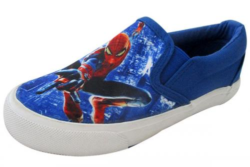 Spiderman Printed Vans Style Shoes For Kids - (CN-001)