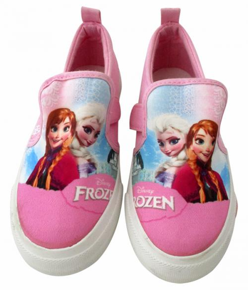 Frozen Printed Vans Style Shoes For Kids - (CN-005)