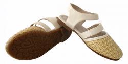 Bamboo Designed Flat Sandals For Kids - (CN-008)