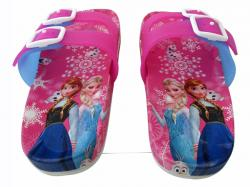 Frozen Printed Slippers For Ladies - (CN-015)