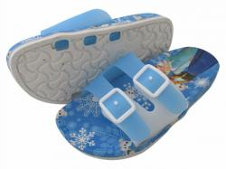 Frozen Printed Slippers For Kids - (CN-016)