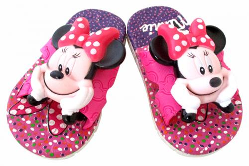 Minnie Mouse Printed Slippers For Kids - (CN-017)