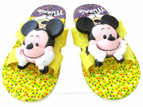 Micky Mouse Printed Slippers For Kids - (CN-018)