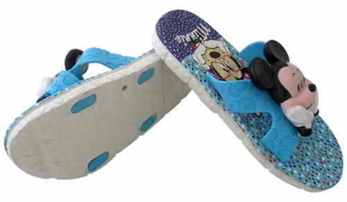 Micky Mouse Printed Slippers For Kids - (CN-019)