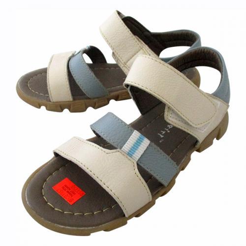 Leather Flat Sandal - (CN-020)