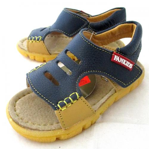 Fankids Leather Flat Sandal - (CN-021)