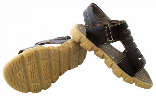 Flat Leather Sandal For Kids - (CN-022)