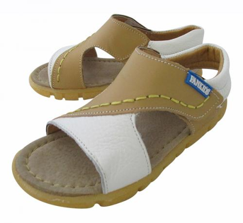 Flat Leather Sandal For Kids - (CN-023)