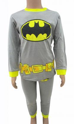 Bat Man Printed Dress Set For Kids - (CN-051)