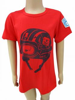 Red Printed T-Shirt - (CN-055)