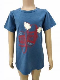 Cotton T-Shirt For Kids - (CN-037)