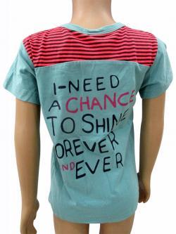 Cotton Light Blue T-Shirt For Kids - (CN-064)