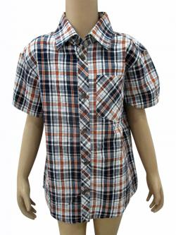 Cotton Check Shirt For Kids - (CN-70)