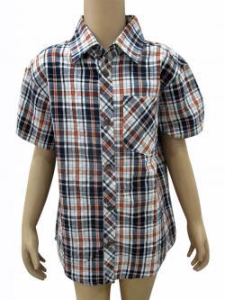 Cotton Check Shirt For Kids - (CN-70)