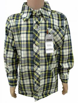 Cotton Check Shirt For Kids - (CN-071)