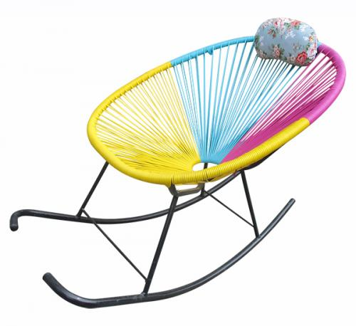 Colorful Rocking Chair - (FO-024)
