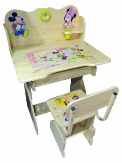 Wooden Study Desk For Kids - (FO-036)