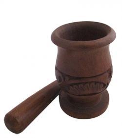 Wooden Okhal - (W026)