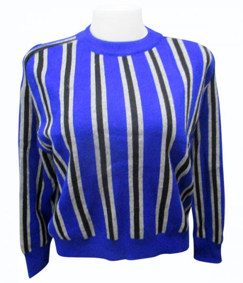 Horse Foot Stripes Full Sleeve T-Shirt - (EZ-017)