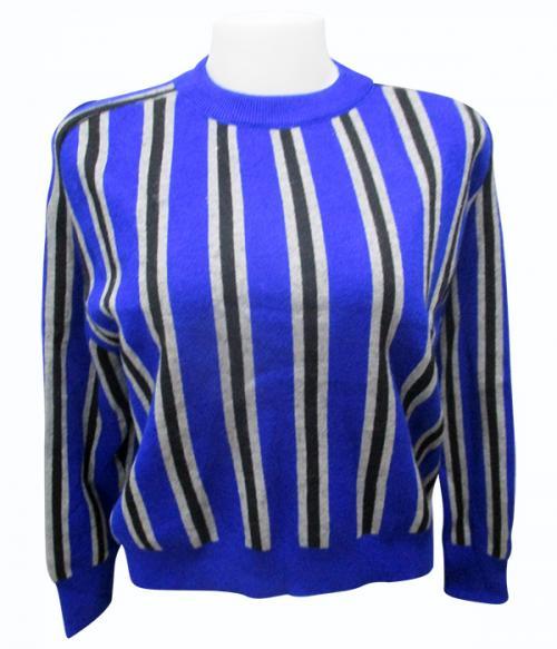 Horse Foot Stripes Full Sleeve T-Shirt - (EZ-017)
