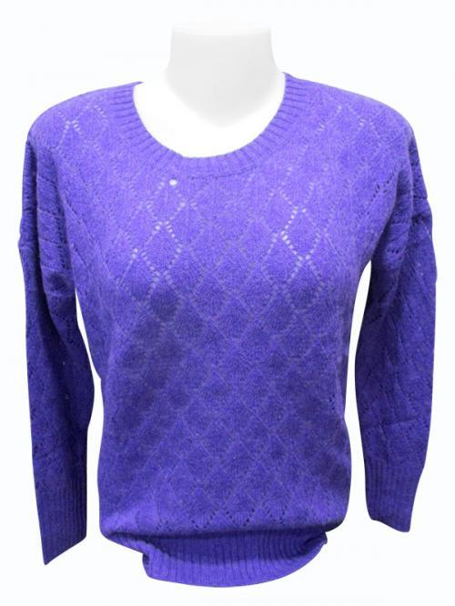Sweater Style Round Neck Full Sleeve T-shirt - (EZ-019)