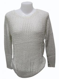 Sweater Style Round Neck Full Sleeve T-shirt - (EZ-022)