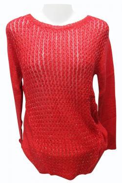 Sweater Style Round Neck Full Sleeve T-shirt - (EZ-025)