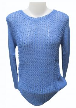 Sweater Style Round Neck Full Sleeve T-shirt - (EZ-026)