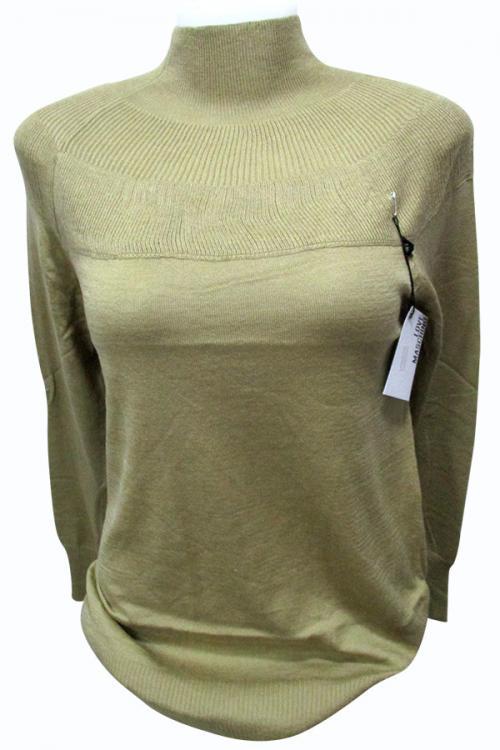 Sweater Style High Neck Full Sleeve T-shirt - (EZ-029)
