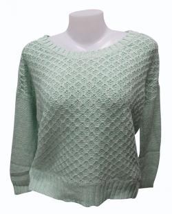 Sweater Style Round Neck Full Sleeve T-shirt - (EZ-032)