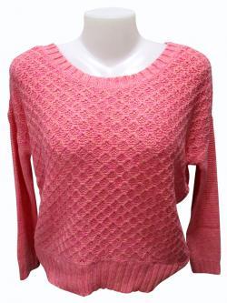 Sweater Style Round Neck Full Sleeve T-shirt - (EZ-033)