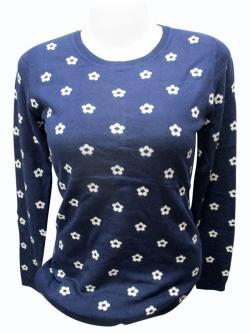 Floral Full Sleeve T-shirt - (EZ-034)