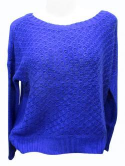 Sweater Style Round Neck Full Sleeve T-shirt - (EZ-039)
