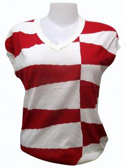 Horsefoot Sleeve Less T-shirt - (EZ-042)