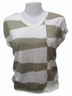 Horsefoot Sleeve Less T-shirt - (EZ-043)