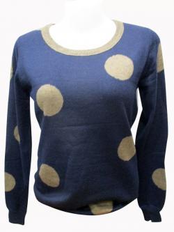 Sweater Style Round Neck Full Sleeve T-shirt - (EZ-047)