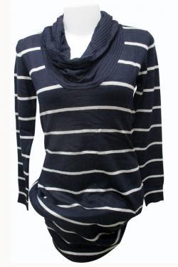 Express Long High Neck Sweater - (EZ-054)