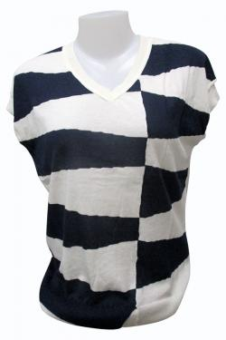 Horsefoot Sleeve Less T-shirt - (EZ-059)