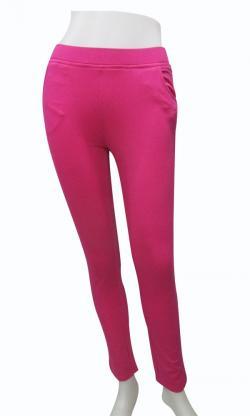 Modern Pink Leggings For Ladies - (EZ-063)